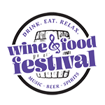 Drink. Eat. Relax. Wine & Food Festival | Charlotte, NC Logo